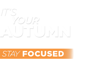 It's your autumn. Stay Focused